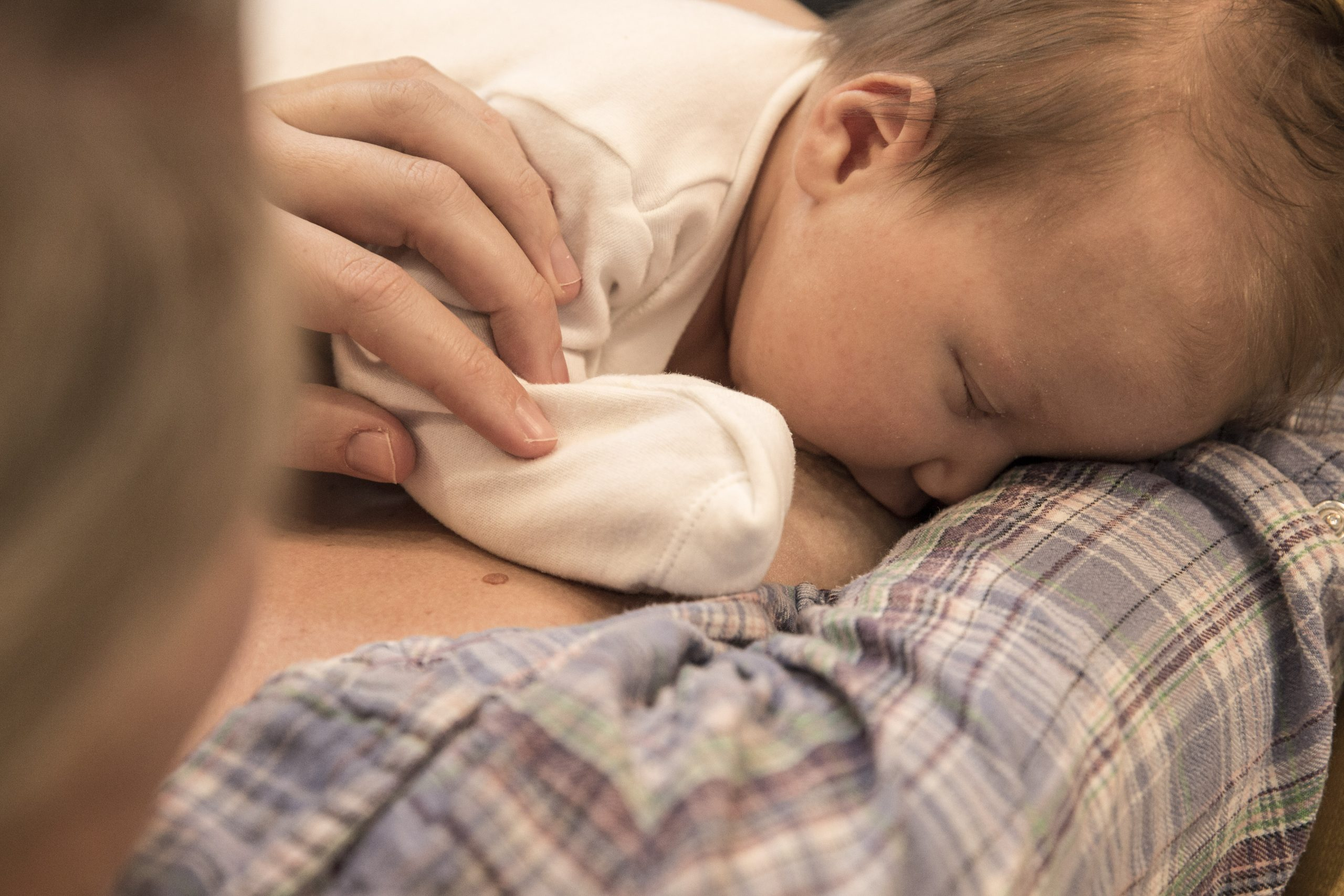 The joy of laid-back breastfeeding